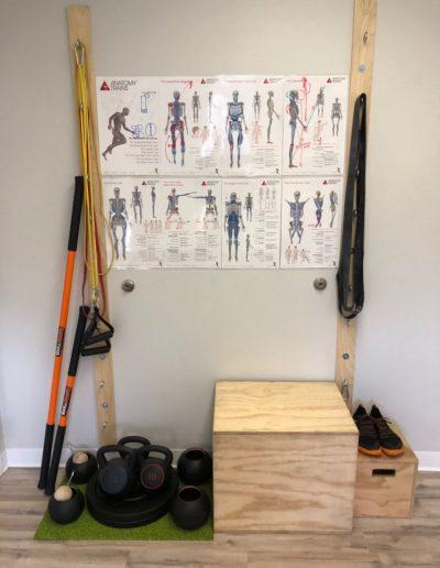 lova health room setup